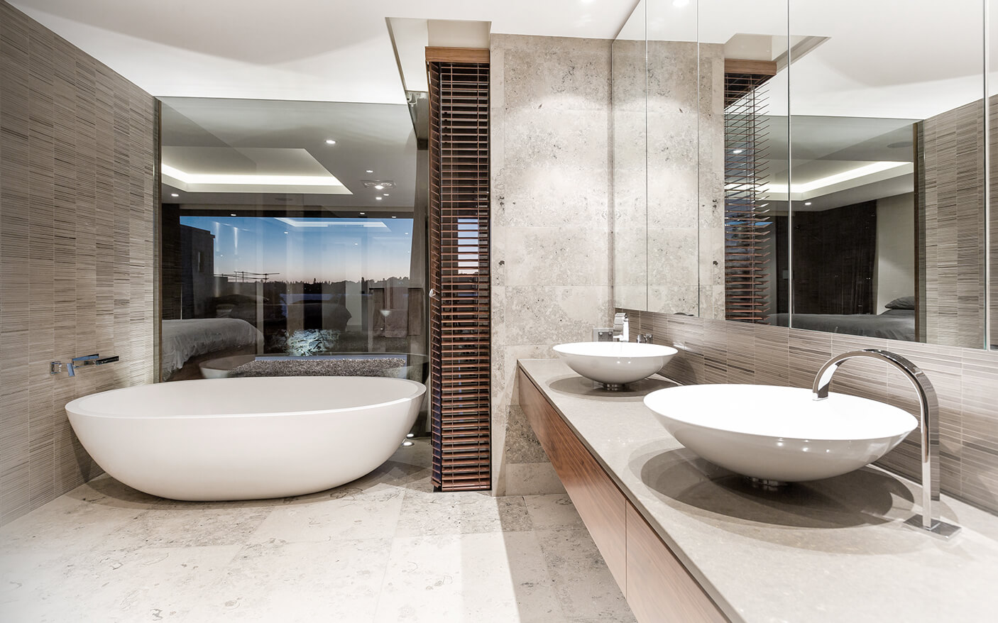 Dalkeith residence giorgi for Bathroom decor osborne park